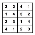 Enigma 1428 - Solution